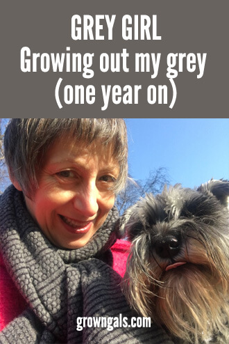 Grey girl - growing out my grey hair
