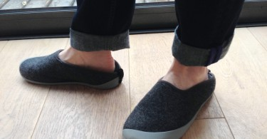 Image of the mahabi slipper with outdoor soles