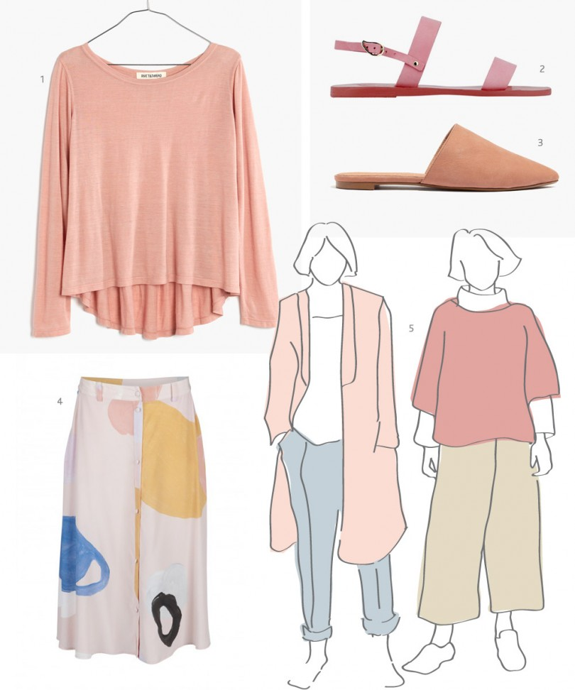 Spring edit of blush with items