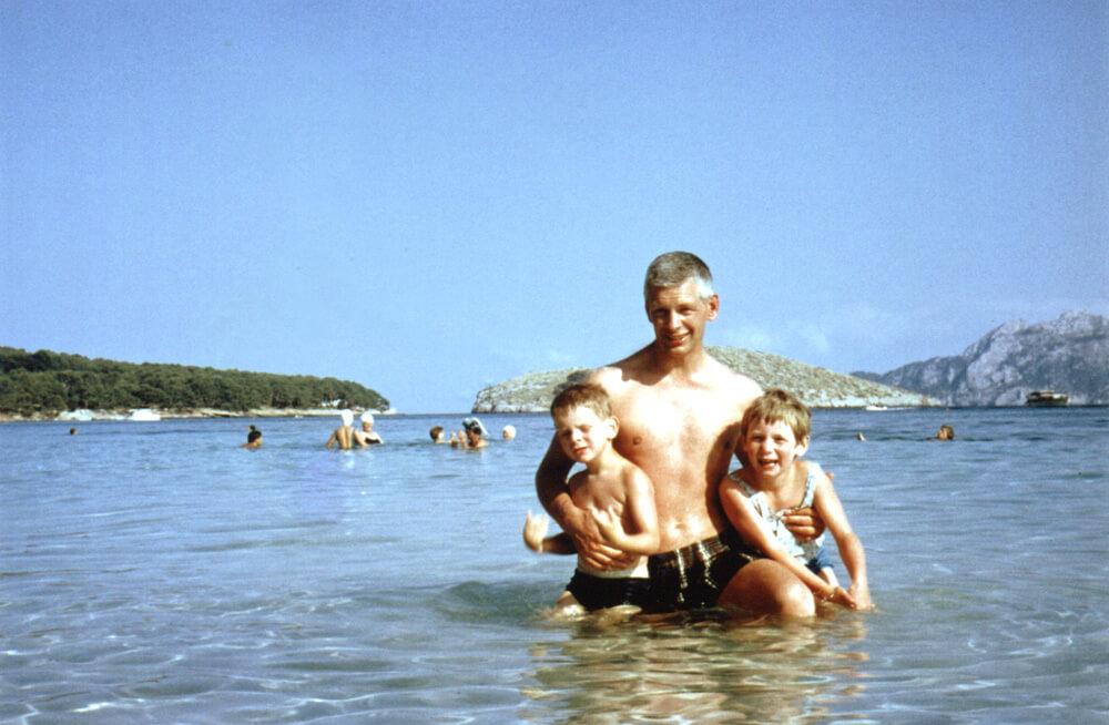The Paul family 1969