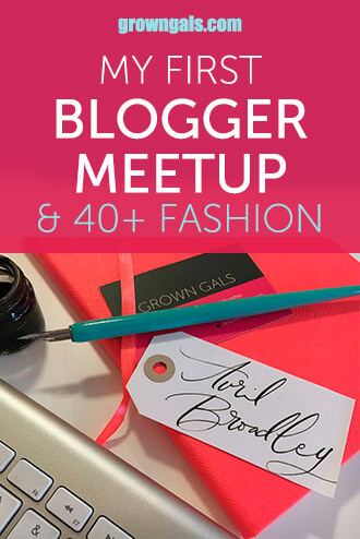 Blogger Meetup pin