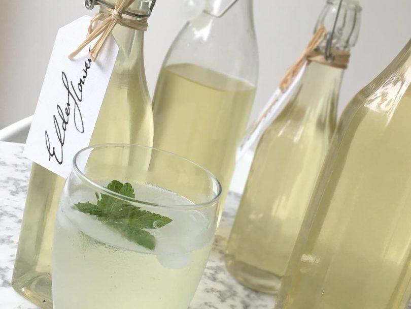 DIY Elderflower Cordial Recipe — Dishmaps