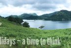 Holidays – a time to think