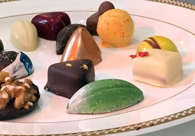 Chocolates at The Savoy