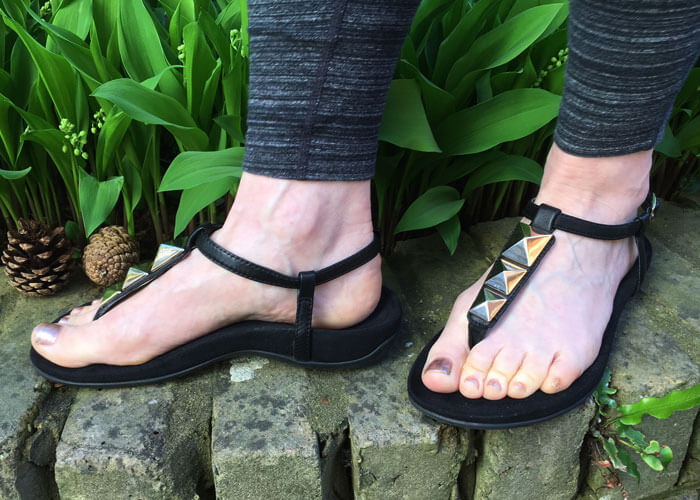 Vionic – review of their comfortable shoe technology (image of Nala sandals)