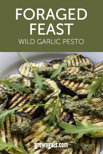 Wild garlic pesto – recipes for foraged feasts | GrownGals