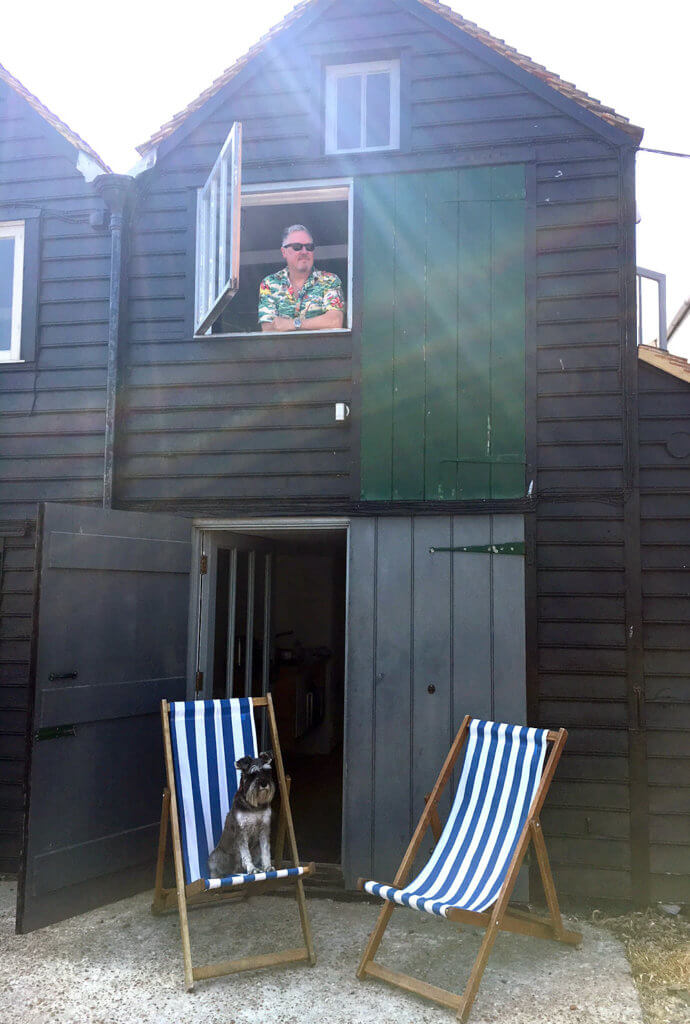 Dog Friendly fishermman's huts, Whitstable