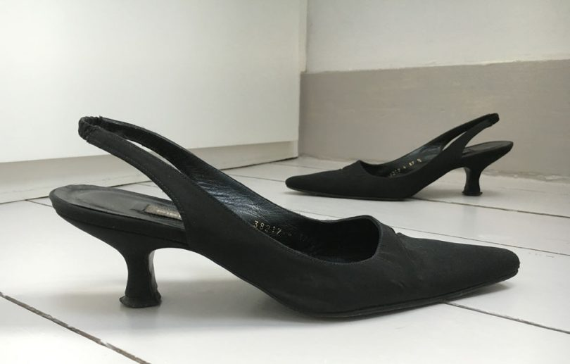 Kitten heels, painful shoes from my wardrobe, growngals.com/painful-shoes